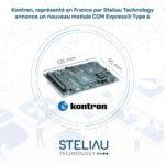 Kontron annonce un nouveau module COM Express®Type 6