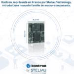 Kontron, représenté en France par Steliau Technology, introduit une nouvelle famille de macro-composants