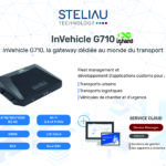 InVehicle G710, la gateway dédiée au monde du transport.