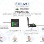 InRouter 300, le nouveau routeur LTE à destination des industriels dans un format compact