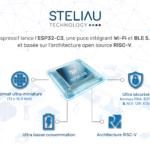 Espressif lance l'ESP32-C3, une puce intégrant Wi-Fi et BLE 5.0, basée sur l'architecture open source RISC-V, idéale pour les applications sécurisées.