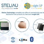 Steliau Technology complète son offre en connectivité avec la distribution des produits du fabricant Insight SiP.