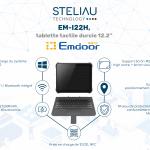 Nouveau produit : EM-I22H, la tablette tactile durcie 12.2'', de Emdoor.