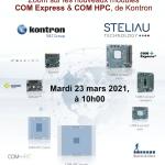Webinar : les COM Express et COM HPC, de Kontron