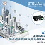 Webinar : Les routeurs cellulaires pour vos applications dédiées à la smart city