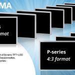 Les P-Series : la nouvelle génération d'écrans TFT-LCD